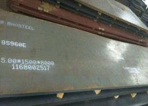 Placa d'acer d'alta resistència 960