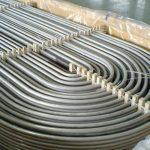 TP304 TP316 TUB U D'ACER INOXIDABLE SOLDAT SENSE COSTURES
